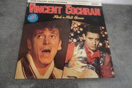 Disque 25 Cm Gène Vincent & Eddie Cochran - Rock' N Roll Heroes Big Beat Records BBR 0023 - Special Formats