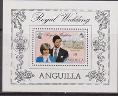 Anguilla  - 1981 Diana Sheet MNH - Anguilla (1968-...)