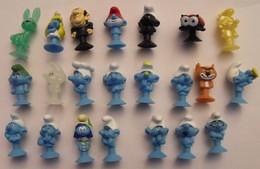 22 Schtroumpfs Ventouse. Collection Magasin U 2018. Série Complète - Smurfs