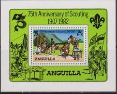 Anguilla  - 1982 Scout Sheet MNH - Anguilla (1968-...)