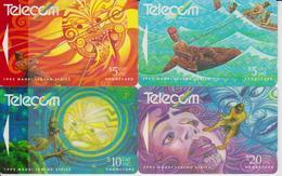 NEW ZEALAND - SET OF 4 CARDS - MAORI LEGEND SERIE - Neuseeland