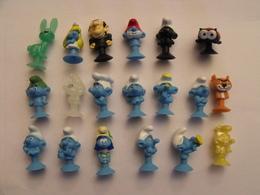 19 Schtroumpfs Ventouse. Collection Magasin U. 2018. - Smurfs