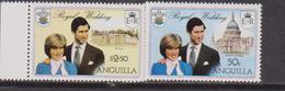 Anguilla  - 1981 Diana Set MNH - Anguilla (1968-...)