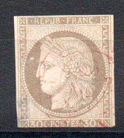 COLONIES GENERALES - YT N° 20 Cachet Rouge - Cote: 25,00 € - Cérès