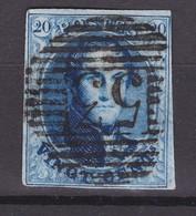 N° 11 A :margé :   53  HAL - 1858-1862 Medallions (9/12)
