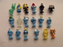 18 Schtroumpfs Ventouse. Collection Magasin U. 2018. - Smurfs