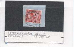 15270) UK GB Postmark Cancel Ireland - 1902-1951 (Rois)