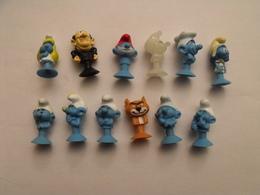 12 Schtroumpfs Ventouse. Collection Magasin U. 2018. - Smurfs