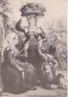 PRIORE VINI DOC - FOLKLORE ABRUZZESE - LA VENDEMMIA - LITOGRAFIA 1860 - Publicité
