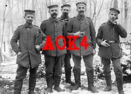 54 57 RESERVE ERSATZ REGIMENT 4 Bezange La Grande Vic Sur Seille Fernsprech Abteilung Koppelschloss 1917 Feldpost - Guerre 1914-18