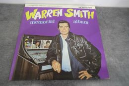 Disque 25 Cm De Warren Smith - Memorial Album - Big Beat Records FP 3  BB 806 - 1980 - Special Formats