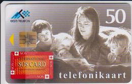 ESTONIA - SOS CARD - 40.000EX. - Estonia