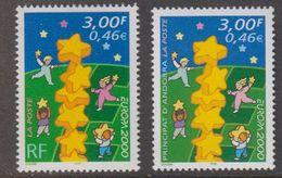 Europa Cept 2000 Andorra Fr + France 2x1v ** Mnh (42736) - Europa-CEPT