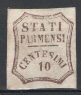 Parma 1859 Governo Provvisorio Sass.14 (*)/MNG VF/F - Parma