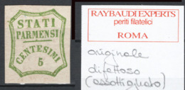 Parma 1859 Governo Provvisorio Sass.13 */MH VF/F - Parma