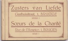 BRUGGE BRUGES - Carnet 10x - Serie 1 - Zusters Van Liefde - Soeurs De La Charité - 1920-1930 - Mapje Met 10 Zichtkaarten - Brugge