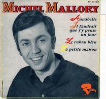 Disque 45 Tours De Michel Mallory - Annabelle - Riviera 231.233 M - 1966 - Special Formats