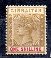 Sello Nº 36 Gibraltar - Gibraltar