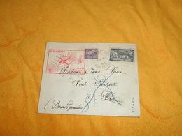 ENVELOPPE ANCIENNE UNIQUEMENT DE 1939..CACHETS DONT 10 MAI 1939 1ERE LIAISON AERIENNE DE NUIT BORDEAUX PAU MONT DE MARSA - Marcophilie (Lettres)