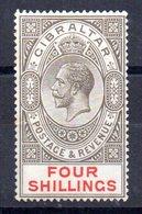 Sello Nº 85  Gibraltar - Gibraltar
