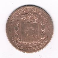 5 CENTIMOS 1878  SPANJE /3999/ - [ 1] …-1931 : Royaume