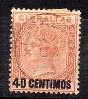 Sello Nº 19  Gibraltar - Gibraltar
