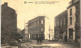 TAMINES   Rue De La Station Ruine Et Reconstructions - Sambreville