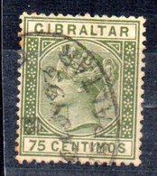 Sello Nº 27  Gibraltar - Gibraltar