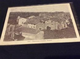 Chia - Roma - Lazio - Panorama -Animata Primi 900 - Fiume Tevere