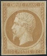 FRANCE CLASSIQUE - NAPOLEON III  N°13A. NEUF.  Cote :  900€. Signé Calves. - 1853-1860 Napoleon III