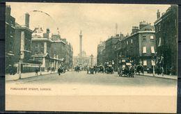"CPSM S/w Raphael Tuck Ansichtskarte England London ""Parliament Street,London,belebt""1 AK Used - Ansichtskarten"