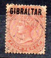 Sello Nº 5  Gibraltar - Gibraltar