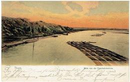 THORN - Toruń - Koejavië-Pommeren - Polen - Blick Von Der Eisenbahnbrücke - 1908 - Pommern