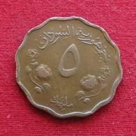 Sudan 5 Millim 1956 KM# 31.1 *V2  Sudão - Sudan