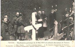 TAMINES   Manifestation Patriotique 25 Mai 1919 - Sambreville