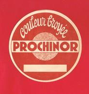 1 Etiquette ... Couleur  PROCHINOR - Etiquettes