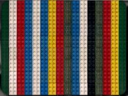 LEGO CLASSIC LOT De 112 DIFFÉRENTES BRIQUES De 6 Et D'UNE FINE PLAQUE VERTE. (3) - Lego