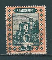 Saar MiNr. 96 Vollstempel  (0323) - Oblitérés