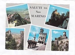 CPSM : 15 X 10,5  - SALUTI  DA  San  MARINO - San Marino