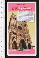 L'Art Gothique / ( Façade Cathédrale D'Amiens )  /  Humour  Moyen-âge Histoire  // IM 218/2 - Vieux Papiers