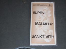 EUPEN - MALMEDY SANKT-VITH - TIMBRES ANNONCE EDITION - Belgique