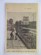 1951 CORBIE (Somme)  La Péniche à Betteraves Au Silo Coopératif - Coupure De Presse Originale (encart Photo) - Documents Historiques