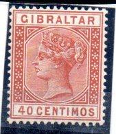 Sello Nº 25 Gibraltar - Gibraltar
