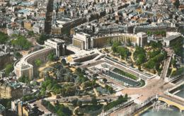 PC96145 Paris. Vue Aerienne. Le Palais De Chaillot. Greff. RP. 1961 - Cartes Postales