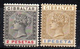 Sellos Nº 31/2 Gibraltar - Gibraltar