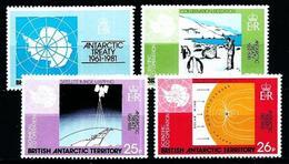 Antártida (Británica) Nº 101/4 Nuevo - Nuevos