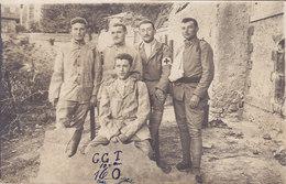 Carte Photo à Identifier Militaire Du 144ème Régiment D'infanterie En Convalescence Dans Un Hôpital  Infirmier Italie ? - A Identificar