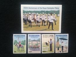 Barbados 150th Anniversary Of Royal Barbados Police - Barbados (1966-...)