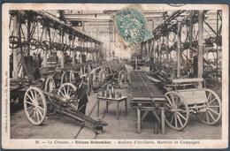 Le Creusot , Usines Schneider , Ateliers D'artillerie , Matériel De Campagne - Le Creusot