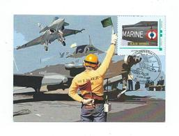 16991 - AERONAVALE - JPO HYERES - BT + TPAM MARINE - 15 Juin 2014 - Postmark Collection (Covers)